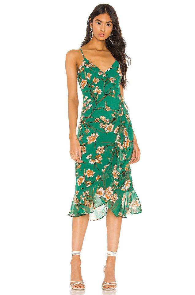 Bardot Malika Dress in green