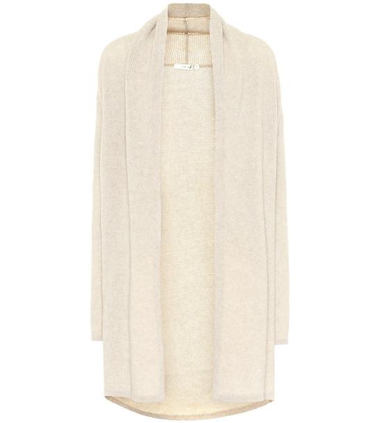 The Row Marndi cashmere cardigan in beige