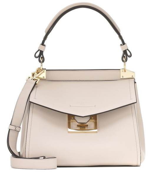 Givenchy Mystic Small leather shoulder bag in white