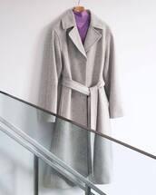 coat,grey coat
