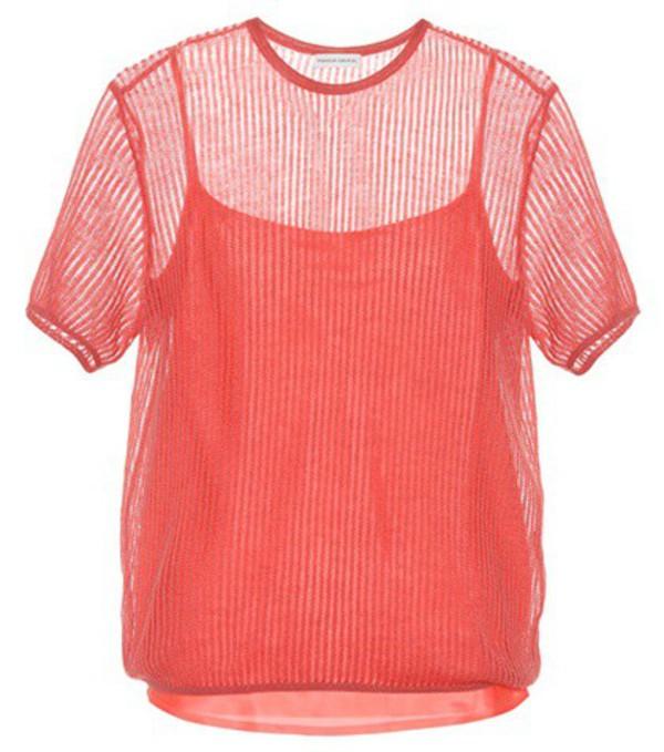 Mansur Gavriel Mohair-blend sweater in pink