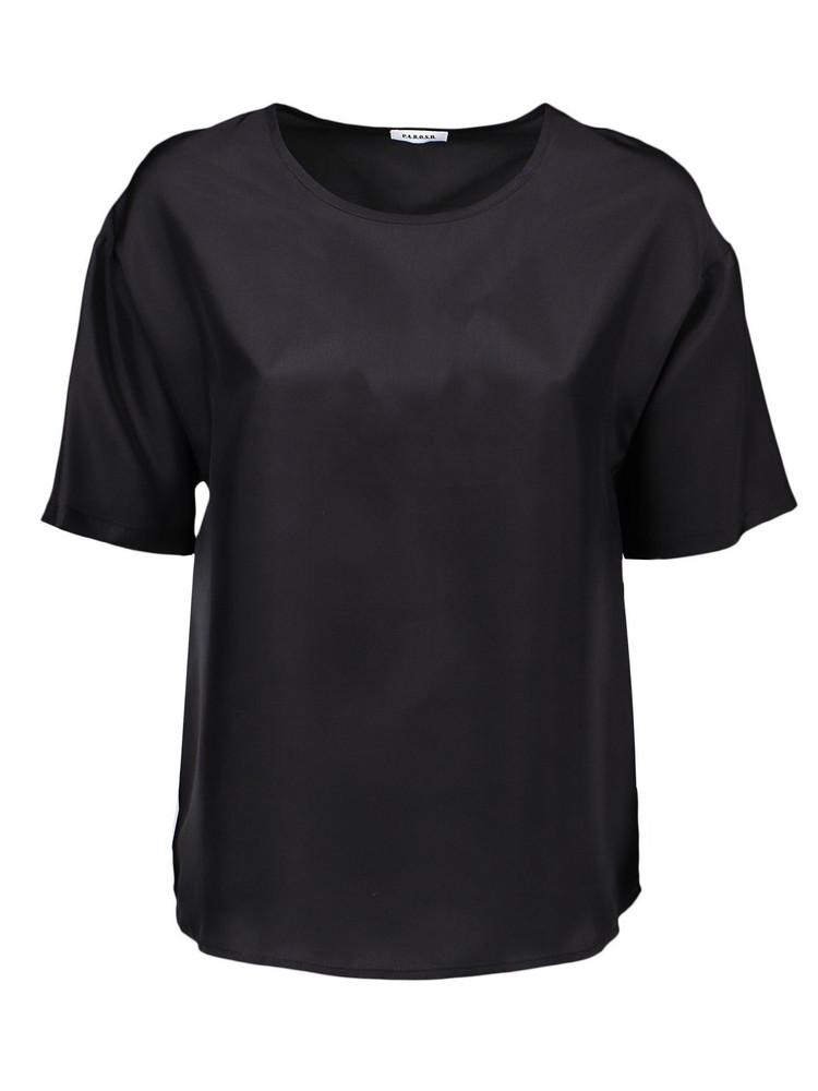 Parosh Shirt in black