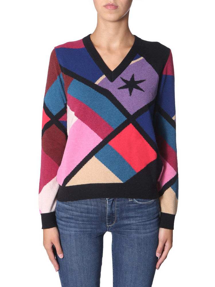 PS by Paul Smith V-neck Sweater in nero