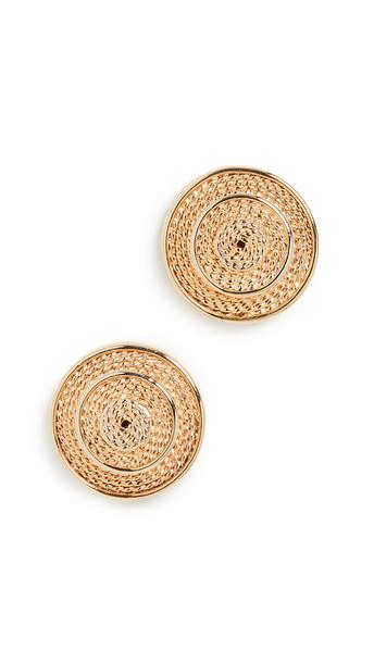 Tohum Mata Rica Earrings in gold