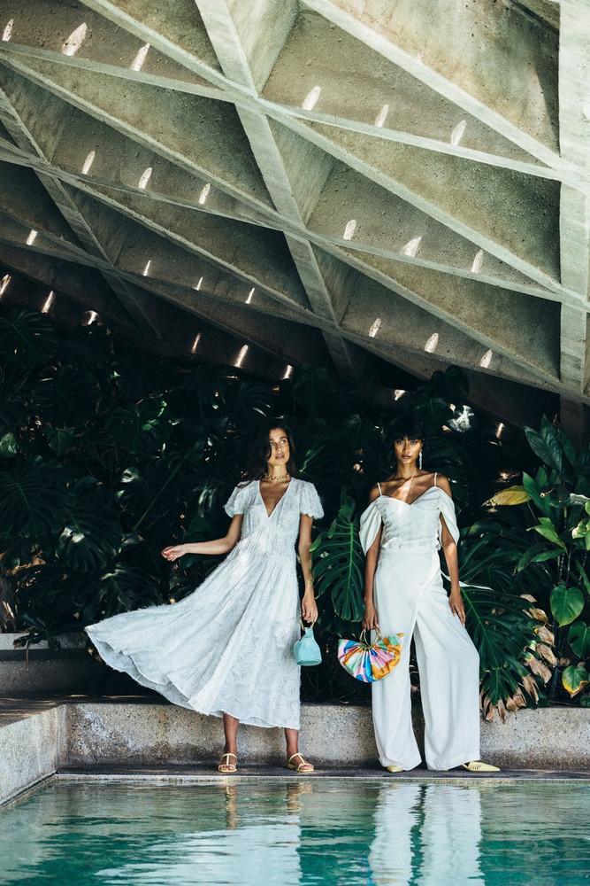 Cult Gaia Elise Dress - Cream (PREORDER)                                                                                               $828.00
