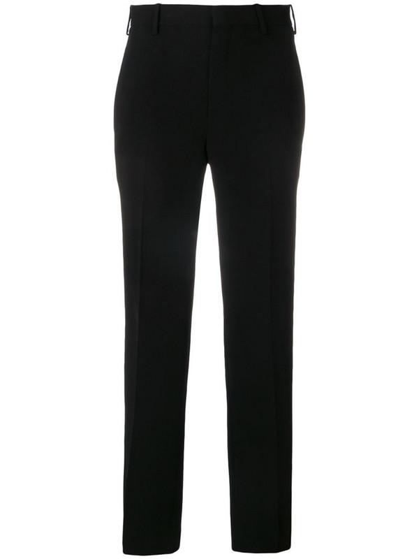 Neil Barrett mid-rise tailored trousers in black