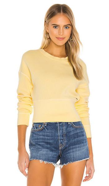n:philanthropy Reeves Sweatshirt in Lemon in yellow