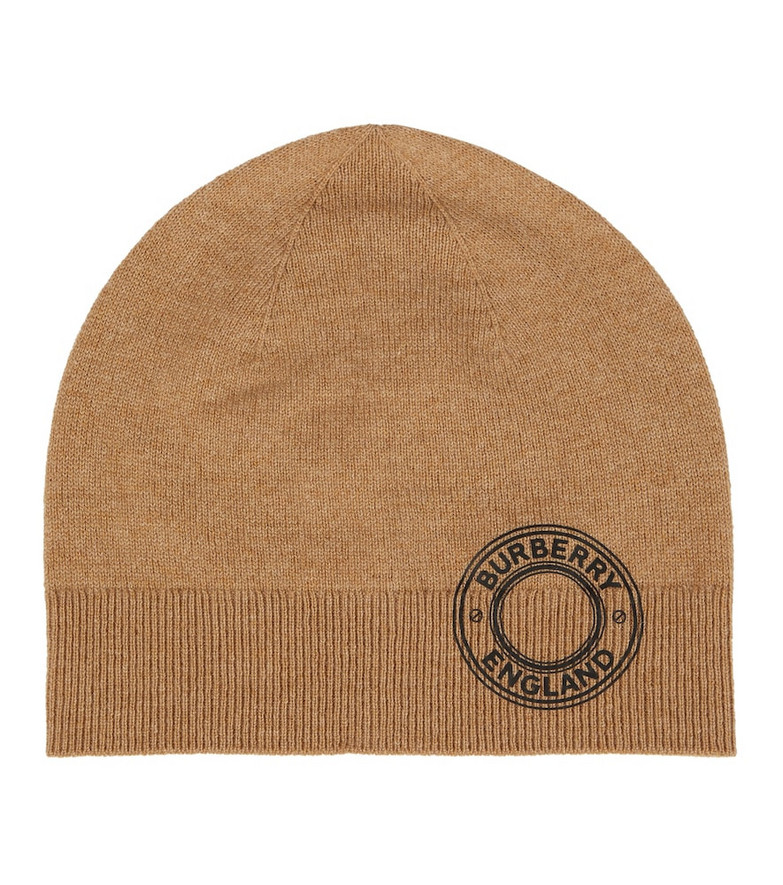 Burberry Cashmere-blend beanie in brown