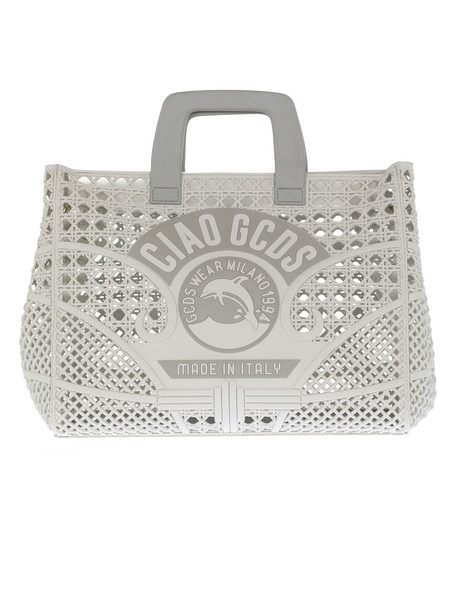 Gcds Ciao Logo Tote in grey
