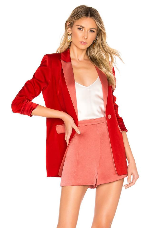 Alexis Nevra Blazer in red