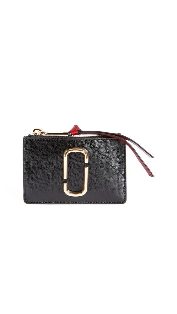 The Marc Jacobs Snapshot Top Zip Multi Wallet in black