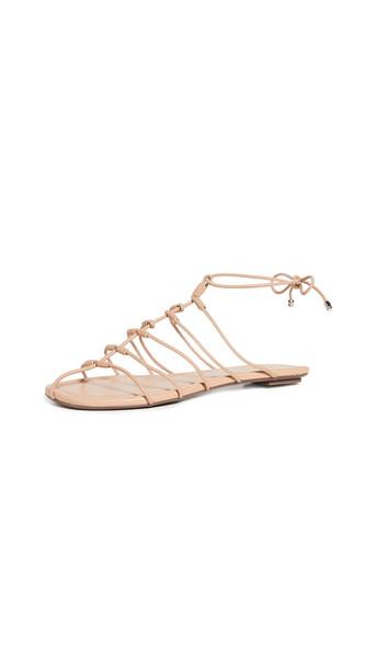 Schutz Tita Sandals in beige