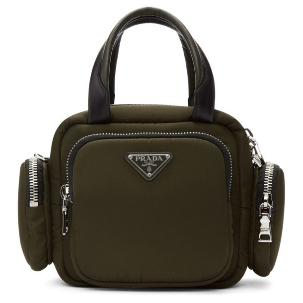 Prada Green Double Pocket Bag