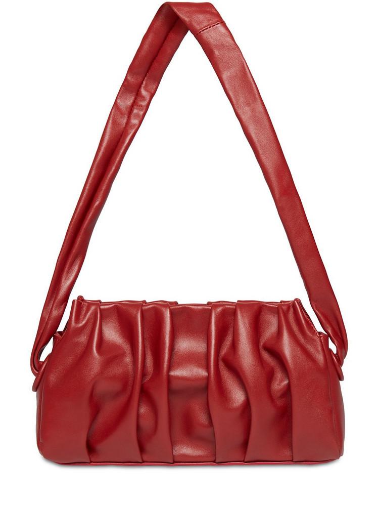 ELLEME Vague Vintage Leather Shoulder Bag in red