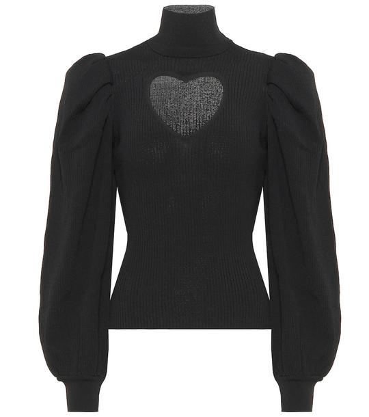 MSGM Turtleneck sweater in black