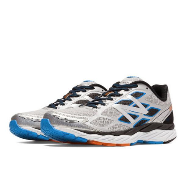New Balance 880v5 Men's Distance Shoes - Silver/Black (M880SB5)