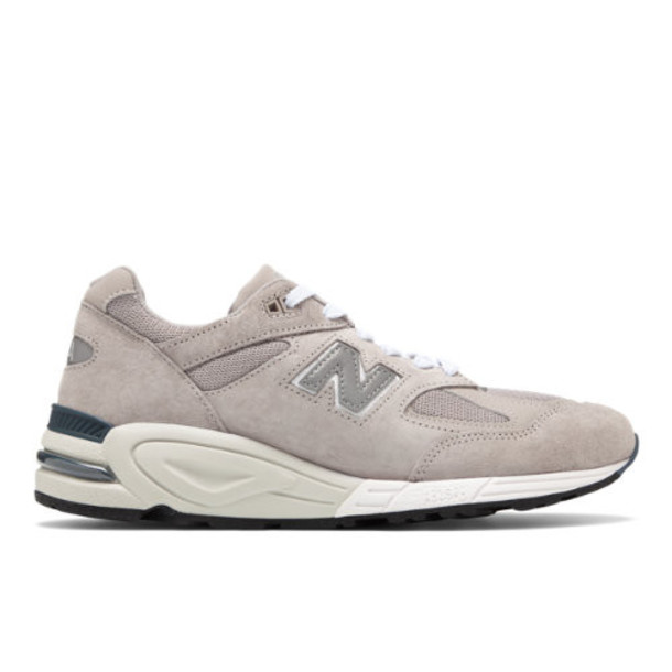New Balance Made in USA 990 Men's & Women's Made in USA Shoes - Grey/White (M990N2)