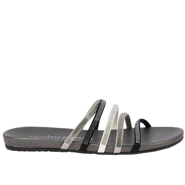 Pedro Garcia Flat Sandals Shoes Women Pedro Garcia in charcoal