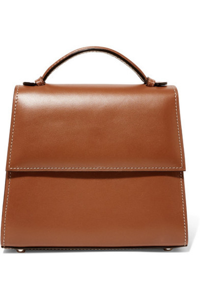 Hunting Season - Small Leather Tote - Brown
