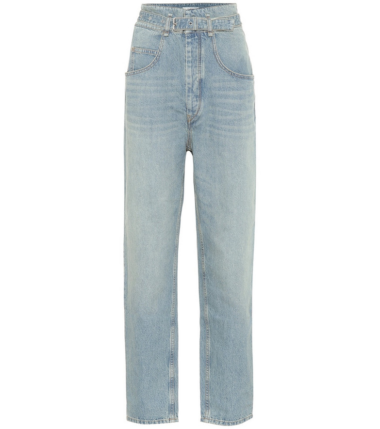 Isabel Marant, Étoile Gloria high-rise straight jeans in blue