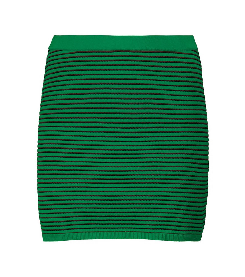 Tropic of C Exclusive to Mytheresa – Sierra striped skirt in green