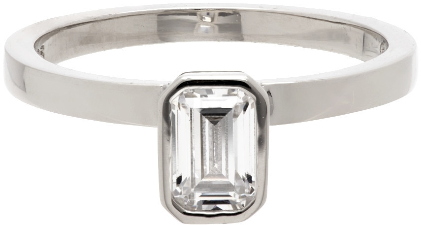 Numbering Silver #3440 Ring in white