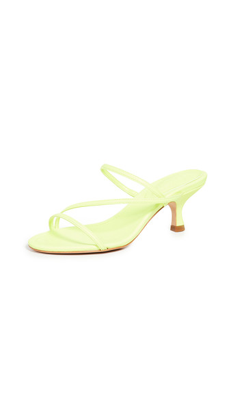 Schutz Evenise Slides in yellow