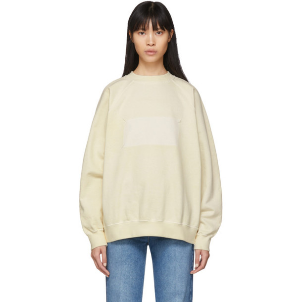 Maison Margiela Off-White Memory Of Sweatshirt