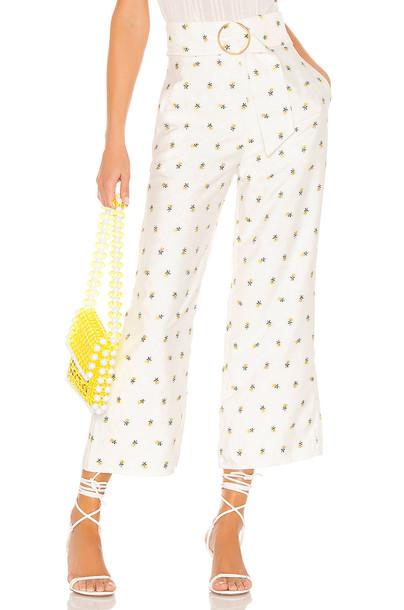 MAJORELLE Sloane Pant in white