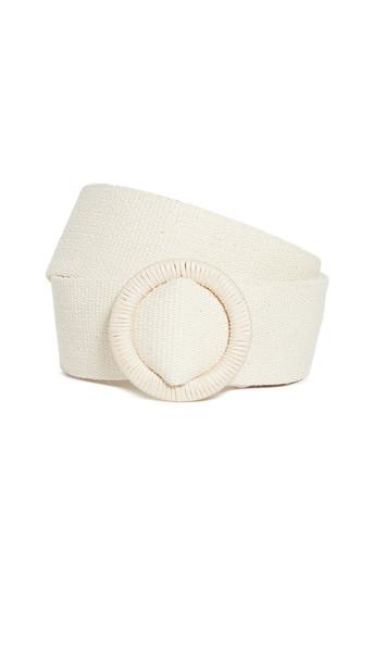 Zimmermann Woven Belt Buckle in natural