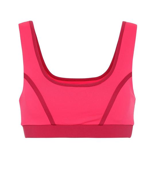 Ernest Leoty Blandine sports bra in pink