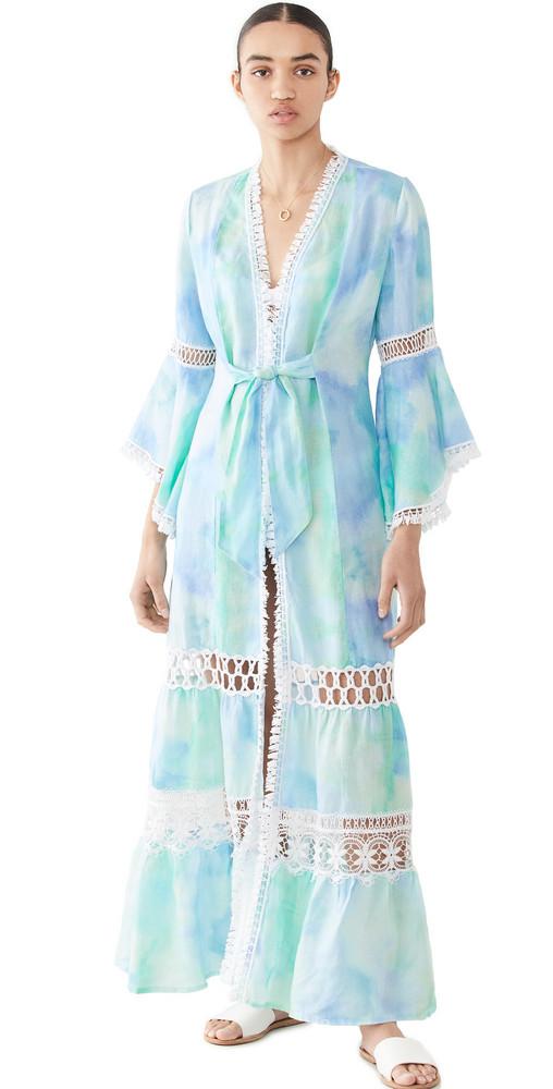 Temptation Positano Dattilo Dress in blue