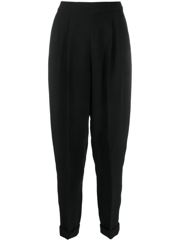 Delpozo tapered trousers in black