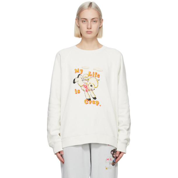 Marc Jacobs Off-White Magda Archer Edition My Life Is Crap Sweatshirt
