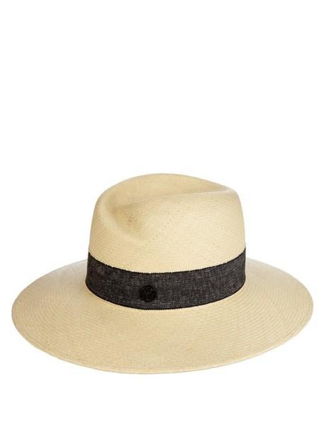 Maison Michel - Virginie Straw Hat - Womens - Cream
