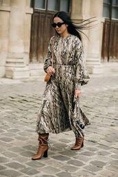 lecatch,blogger,spring outfits,dress,snake skin,snake skin dress