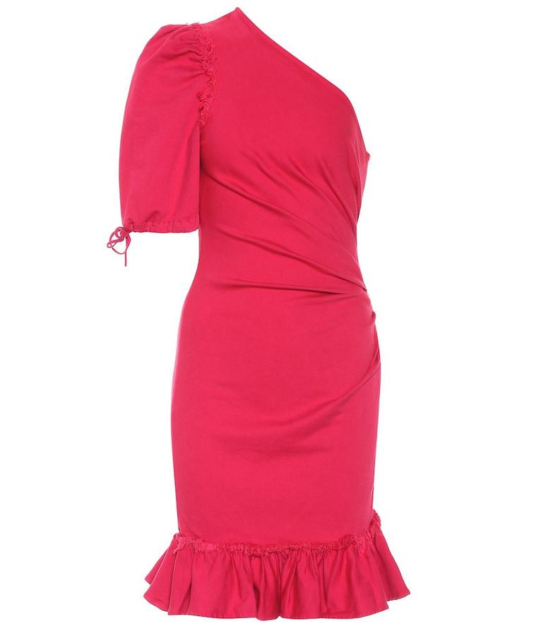 Jonathan Simkhai Denim minidress in pink