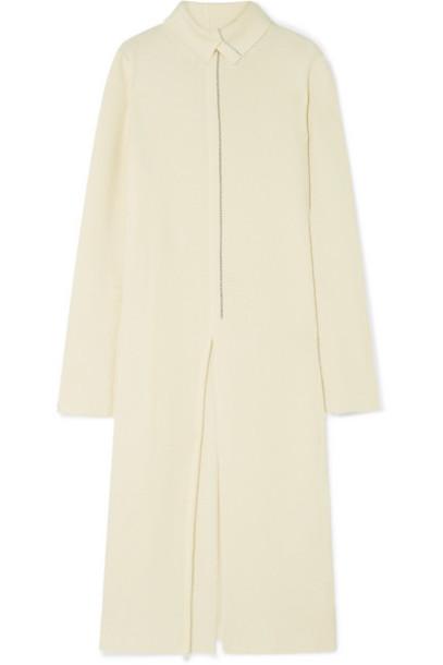 Jil Sander - Wool-blend Midi Dress - Off-white