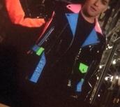 jacket,colorful,leather jacket,fashion,leather
