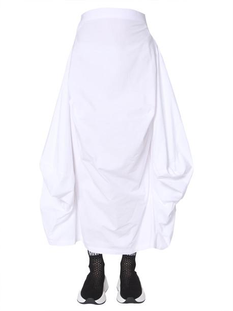 MM6 Maison Margiela Seat-cover Skirt in bianco