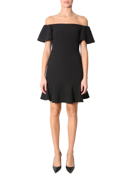MICHAEL Michael Kors Dress With Ruches in nero