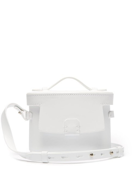 Nico Giani - Frerea Mini Leather Cross Body Bag - Womens - White