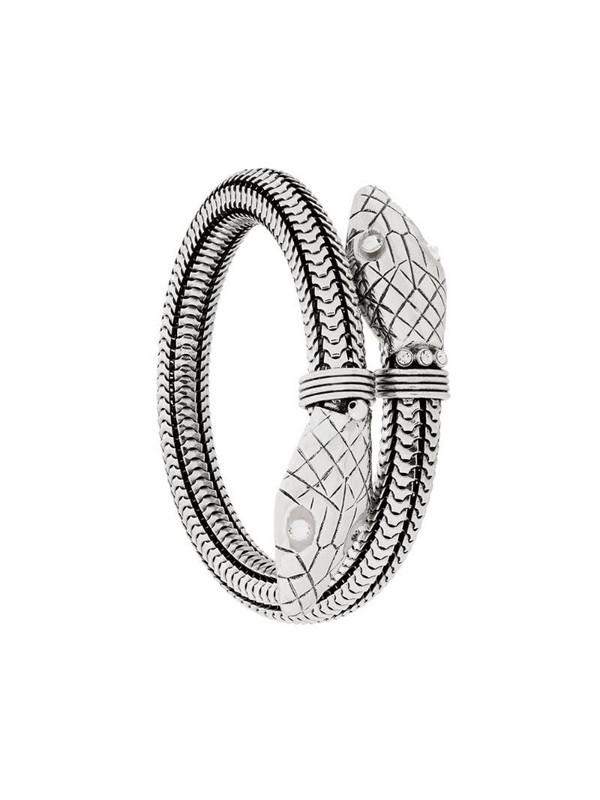 Gas Bijoux Cobra bracelet in metallic