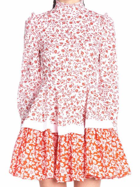 Alexander Mcqueen 'vict Floral' Dress
