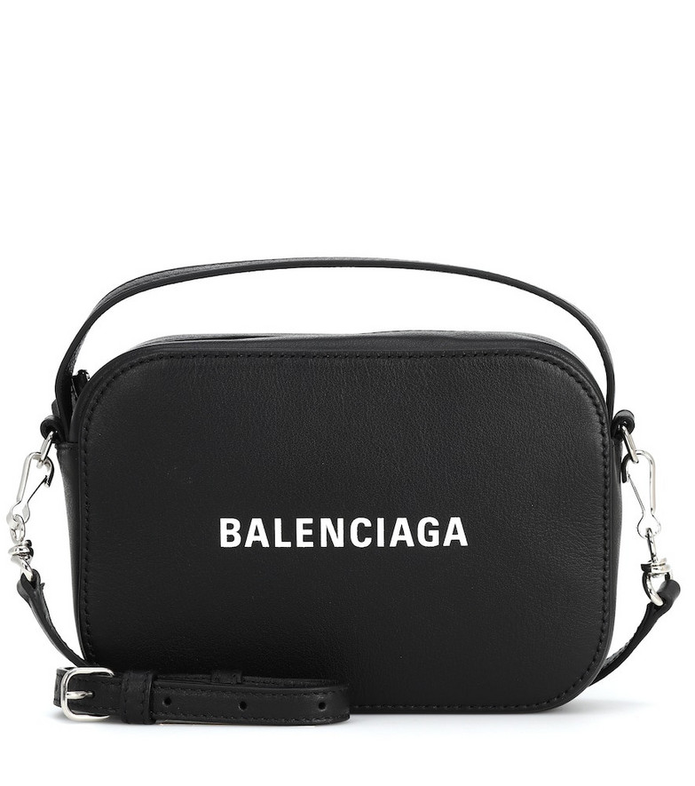Balenciaga Everyday XS leather camera bag in black