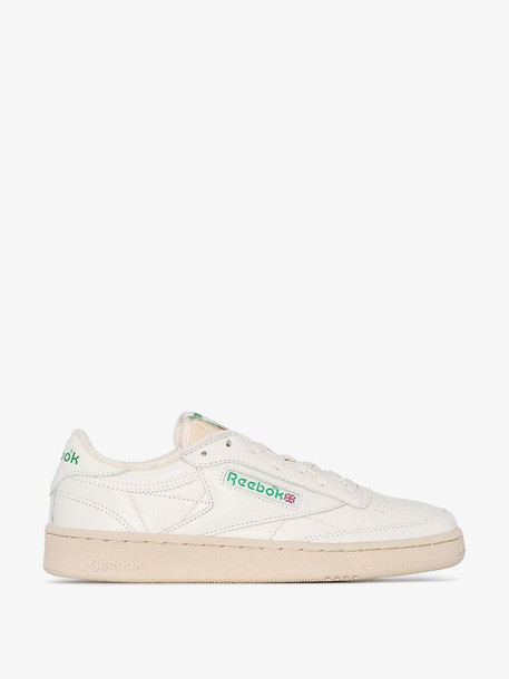 Reebok white Club C 1985 TV leather sneakers