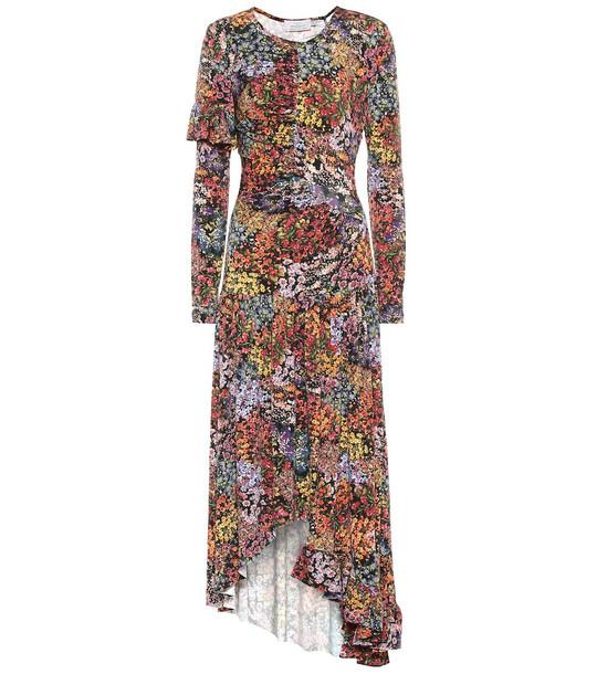 Preen by Thornton Bregazzi Floral stretch crêpe dress