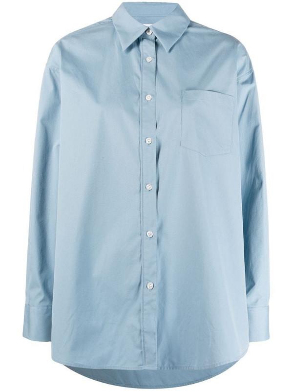 Filippa K Sammy long-sleeve shirt in blue