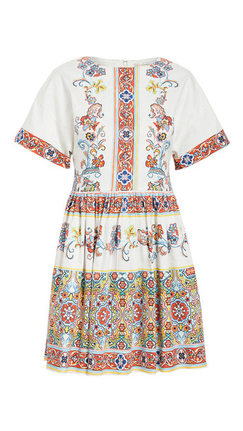 Shoshanna Amparo Dress in multi / beige