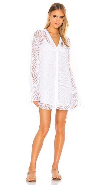 L'Academie The Macy Mini Dress in White